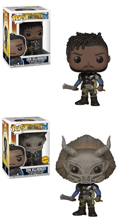 Black Panther Movie POP! Movies Figures Killmonger 9 cm Assortment (6)