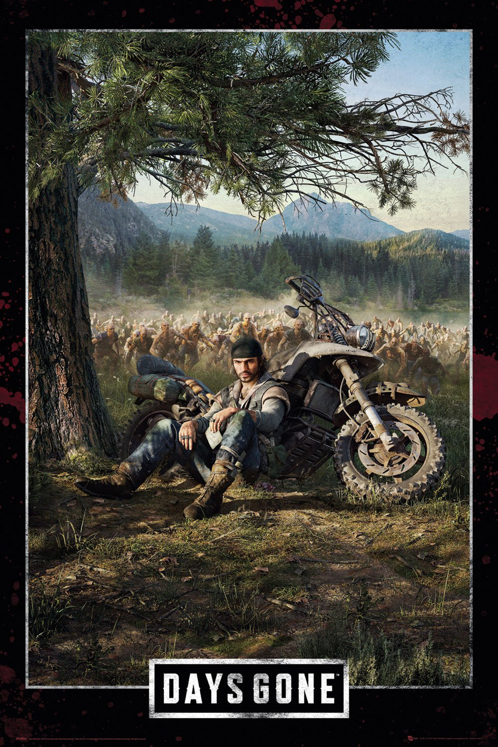 Days Gone Poster Pack Key Art Cover 61 x 91 cm (5)