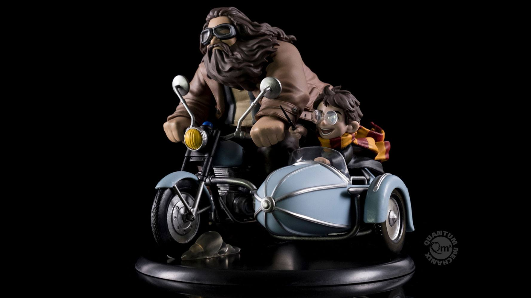 Harry Potter Q-Fig MAX Diorama Harry Potter & Rubeus Hagrid 15 cm --- DAMAGED PACKAGING