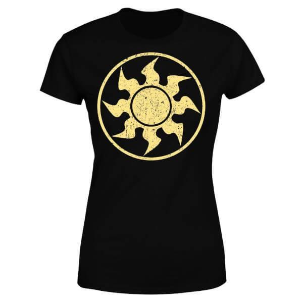 Magic the Gathering Ladies T-Shirt Mana White Size S