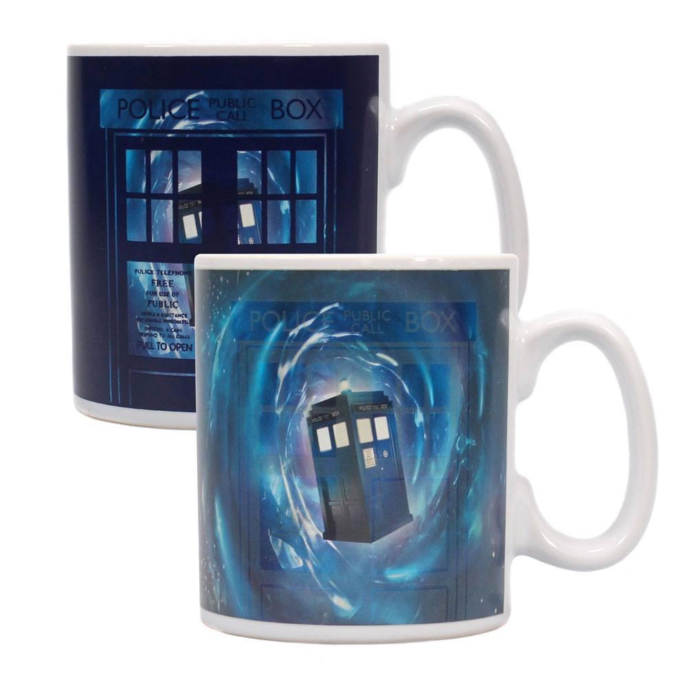 Doctor Who Heat Change Mug Time Lord