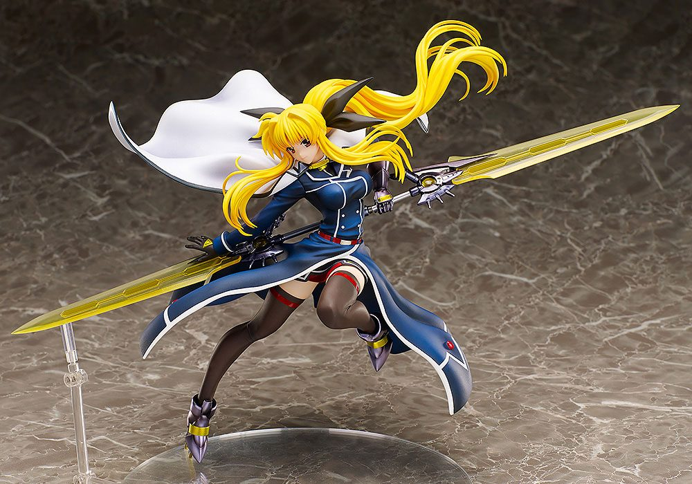 Magical Girl Lyrical Nanoha Force PVC Statue 1/8 Fate T. Harlaown 23 cm