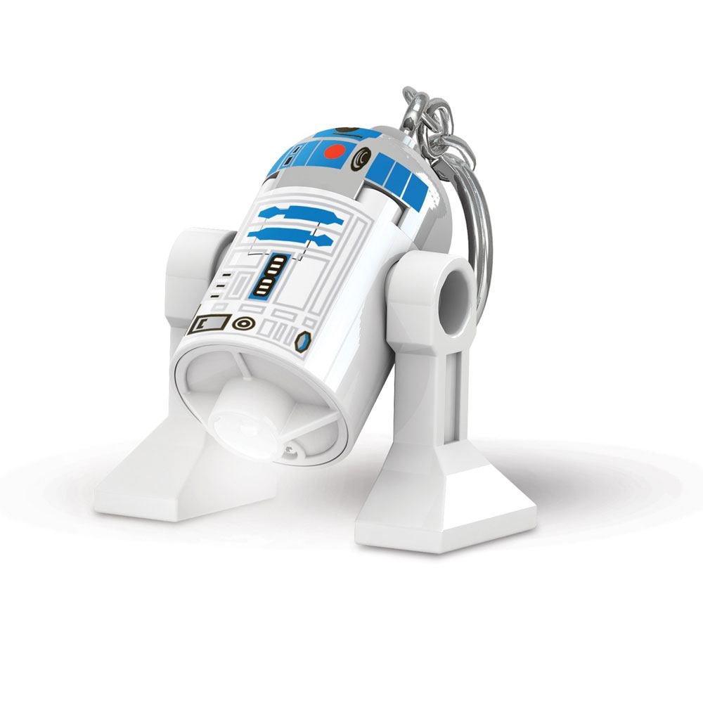 LEGO Star Wars Light-Up Keychain R2D2 6 cm