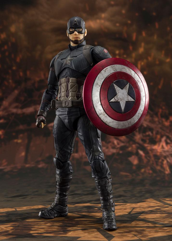Avengers: Endgame S.H. Figuarts Action Figure Captain America (Final Battle) 15 cm