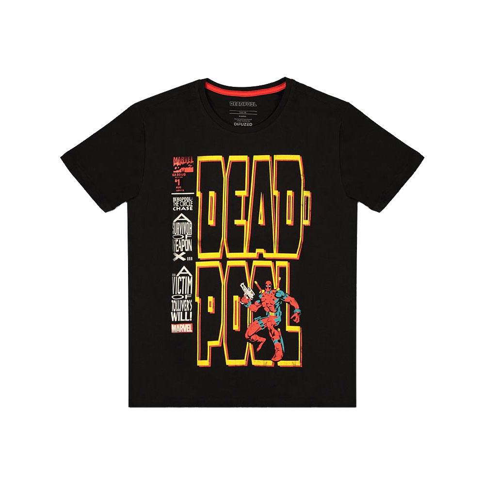 Deadpool T-Shirt The Circle Chase Size L