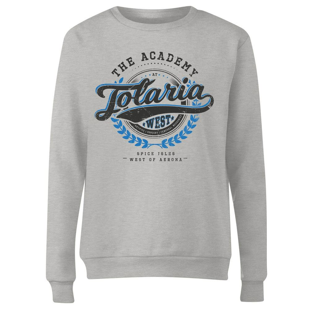 Magic the Gathering Ladies Sweatshirt Tolaria Academy Size L