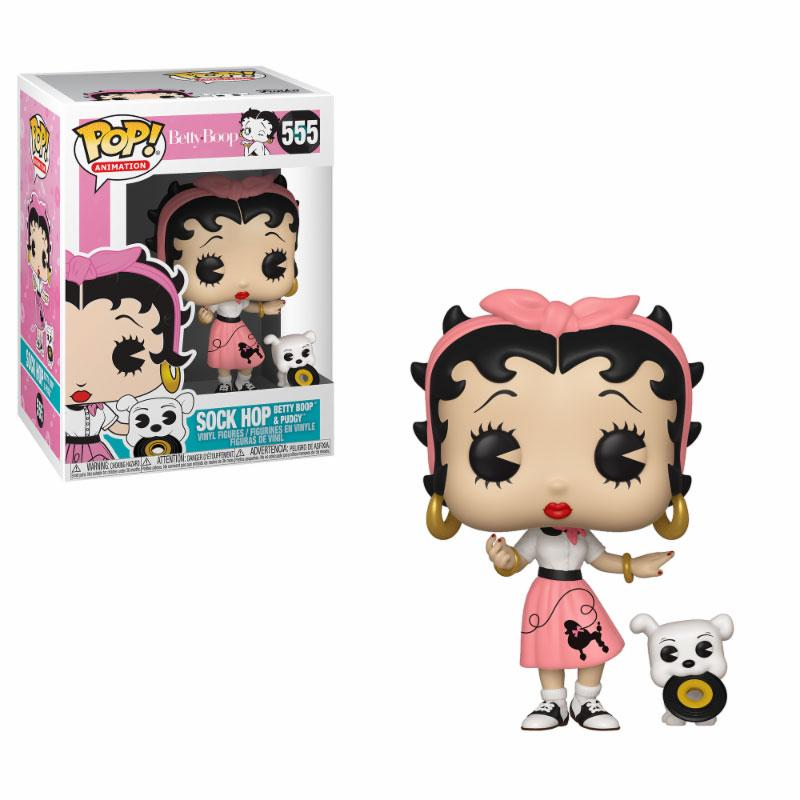 Betty Boop POP! Animation Vinyl Figure Betty Boop Sock Hop 9 cm