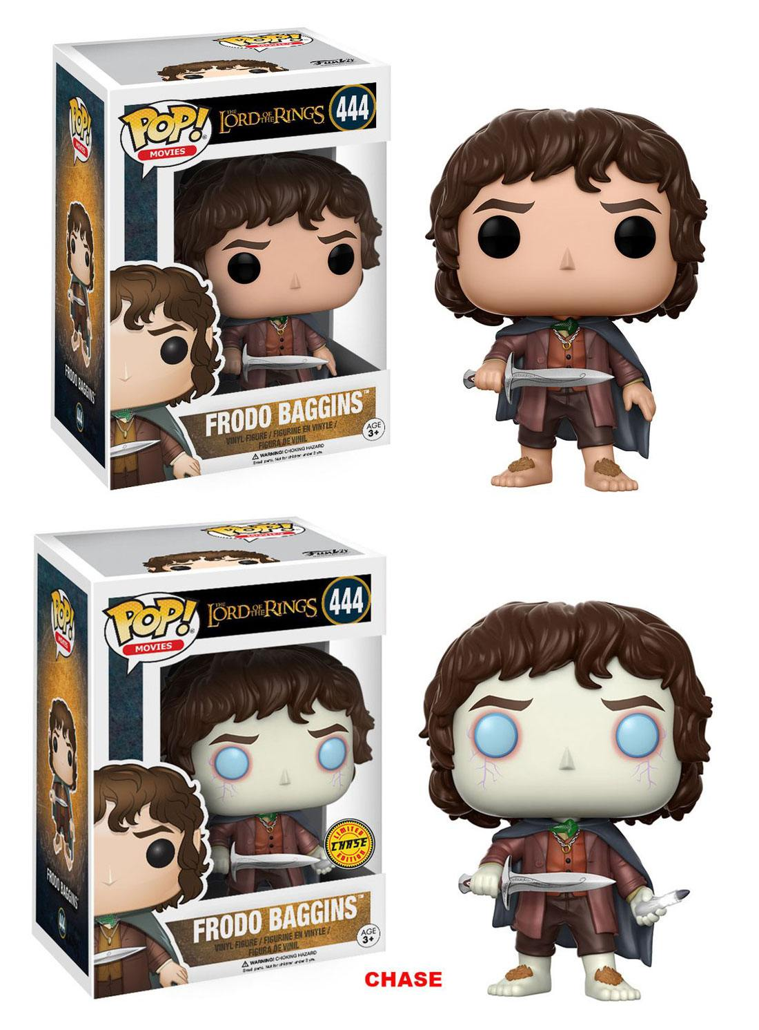Lord of the Rings POP! Movies Vinyl Figures Frodo Baggins 8 cm Assortment (6)