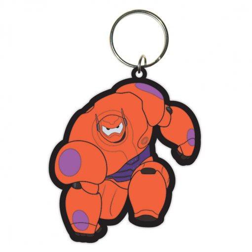 Big Hero 6 Rubber Keychain Baymax 6 cm