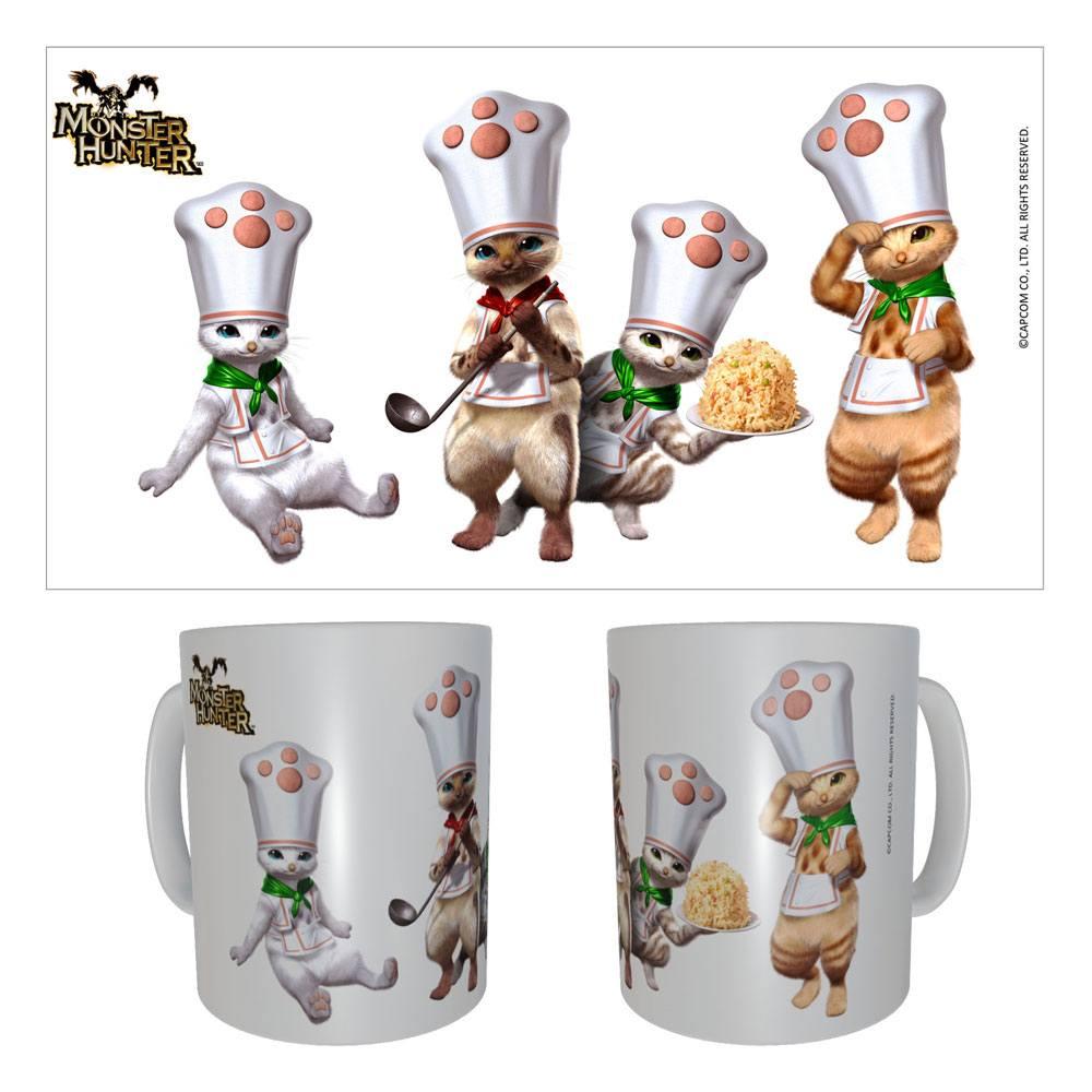 Monster Hunter Ceramic Mug Palico