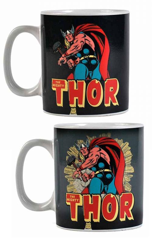 Marvel Comics Heat Change Mug Thor