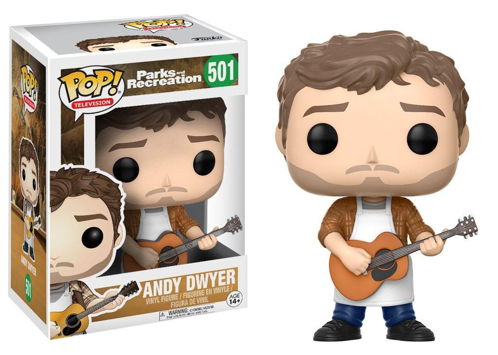 Parks and Recreation POP! TV Vinyl Figure Andy Dwyer 9 cm