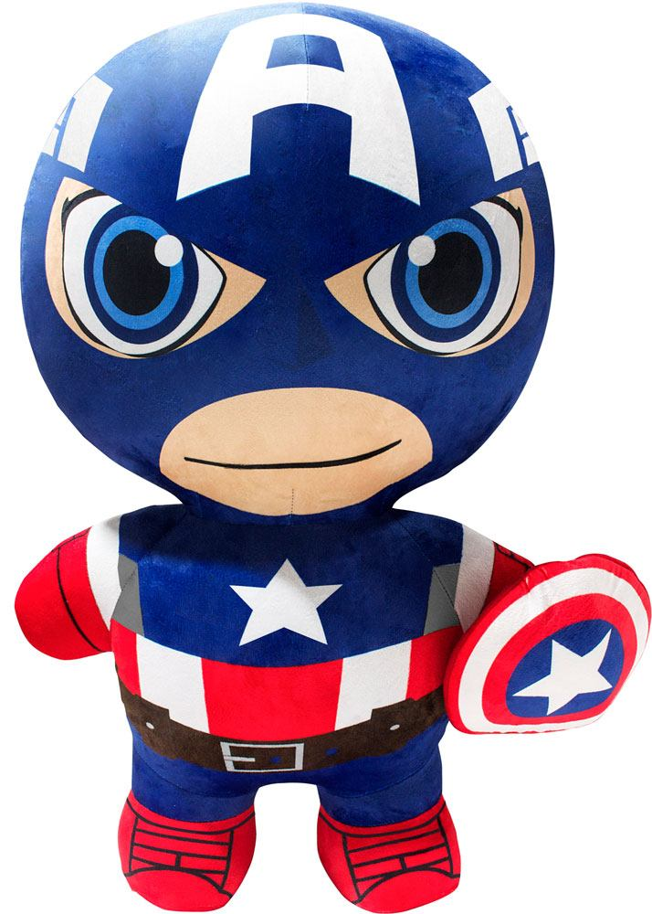 Marvel Inflate-A-Heroes Inflatable Plush Figure Captain America 76 cm