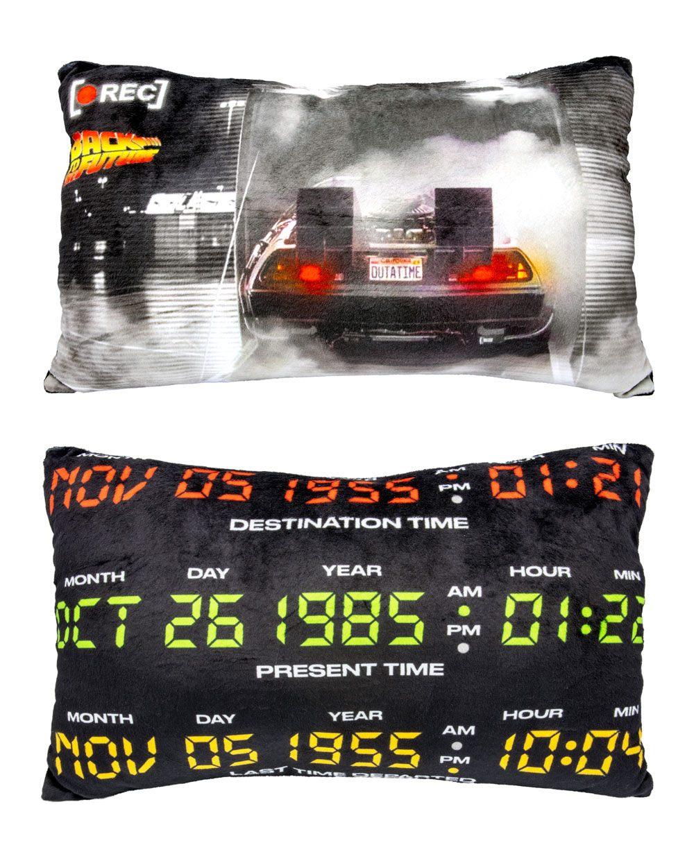 Back To The Future Plush Cushion Recording 44 cm