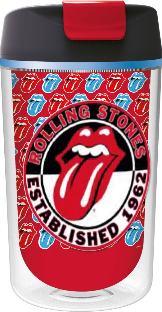 Rolling Stones Drinking Cup Tumbler To Go Logo