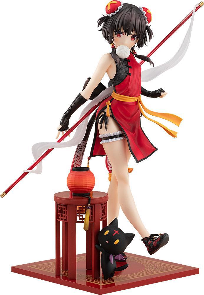 Kono Subarashii Sekai ni Shukufuku wo! Statue 1/7 Megumin Light Novel China Dress Ver. 22 cm