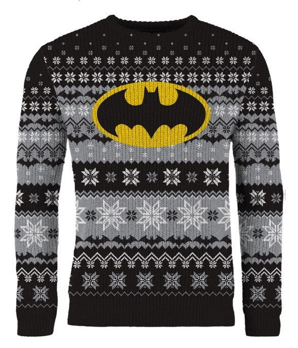 DC Comics Knitted Sweater Batman Yellow Signal Size XL