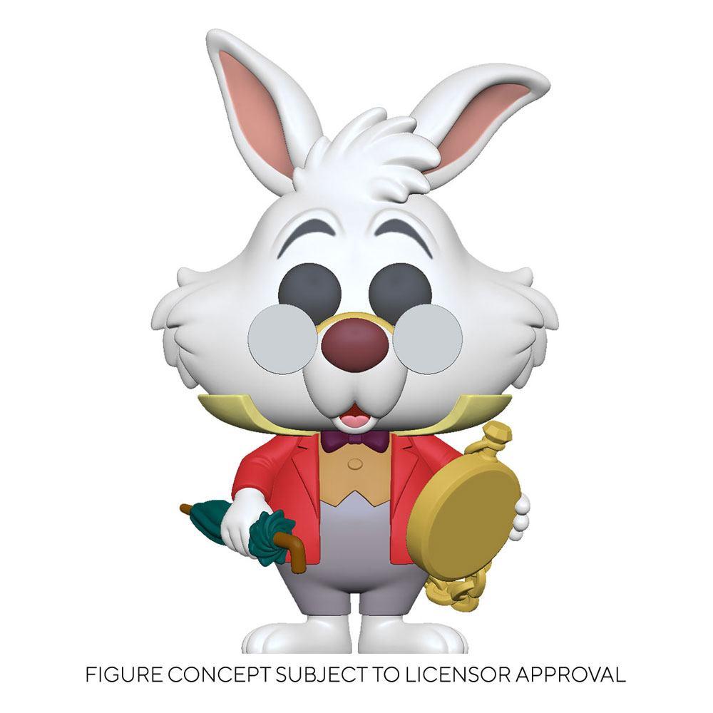 Alice in Wonderland POP! Disney Vinyl Figure White Rabbit w/Watch 9 cm