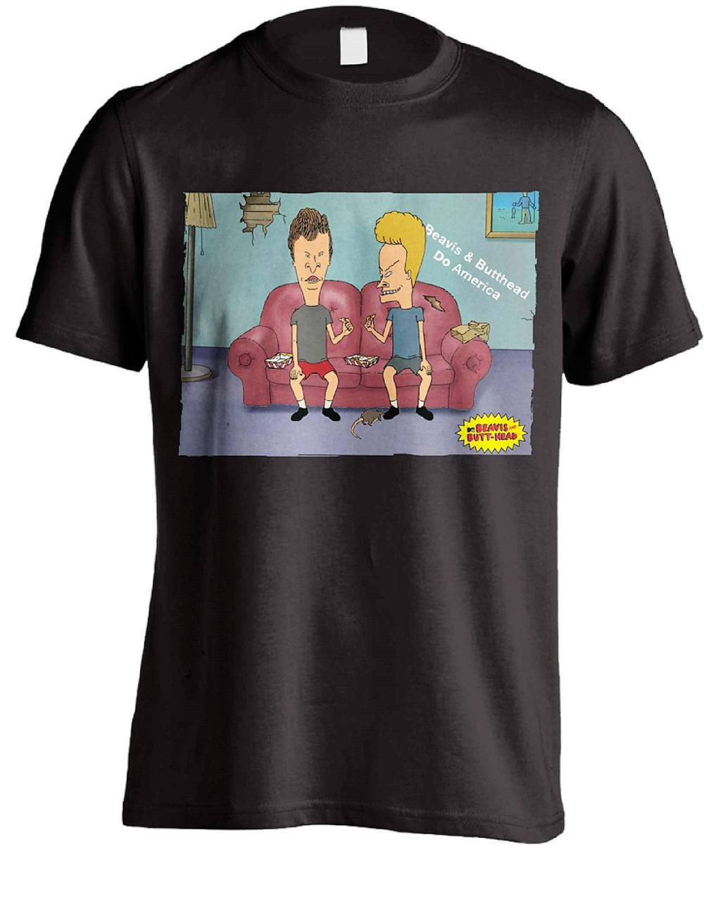 Beavis & Butt-Head T-Shirt Do America Size L