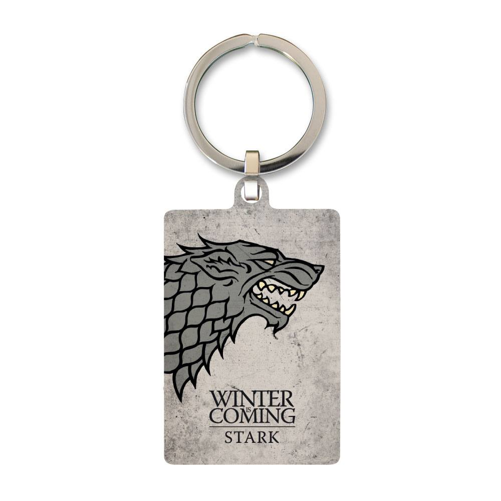 Game of Thrones Metal Keychain Stark 6 cm