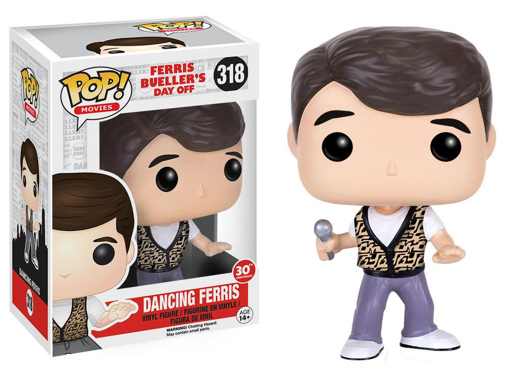 Ferris Bueller's Day Off POP! Movies Vinyl Figure Dancing Ferris 9 cm