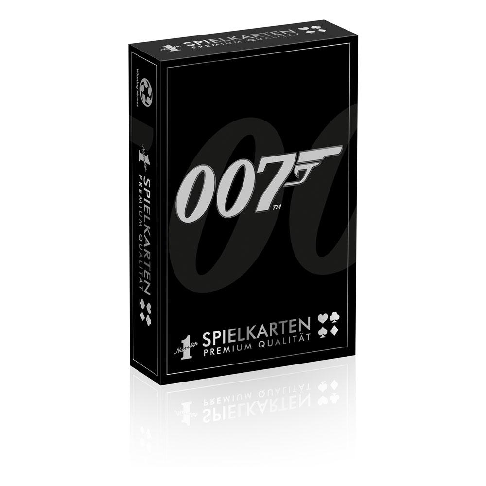 James Bond Number 1 Playing Cards Display (12) *German Version*