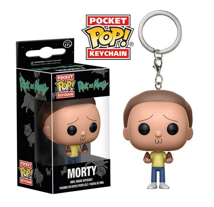 Rick and Morty Pocket POP! Vinyl Keychain Morty 4 cm