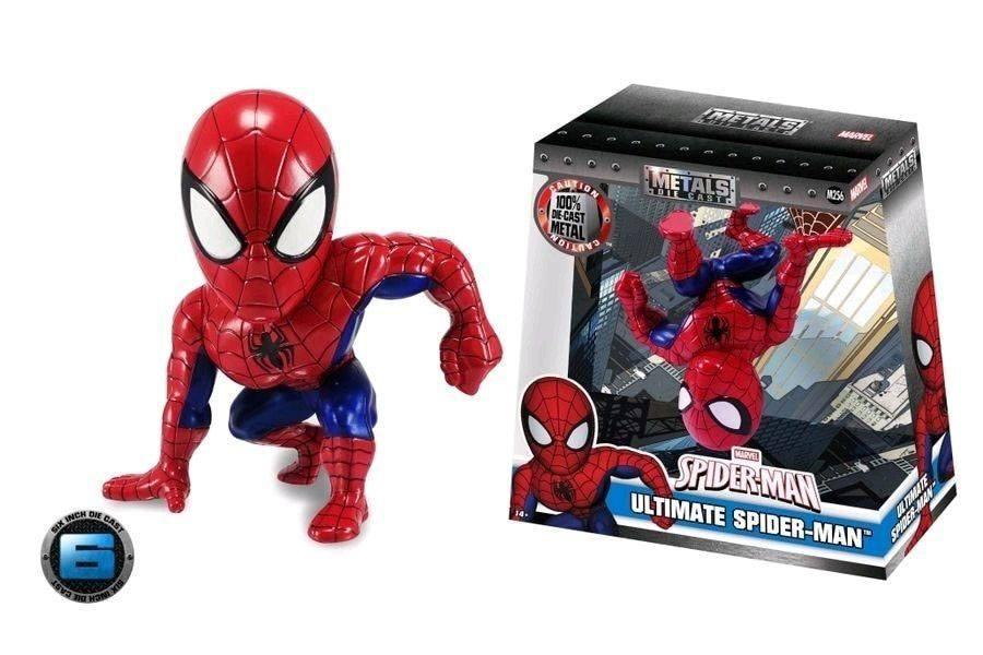 Marvel Metals Diecast Mini Figure Ultimate Spider-Man 15 cm