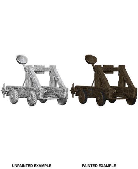 WizKids Deep Cuts Unpainted Miniature Catapult Case (6)