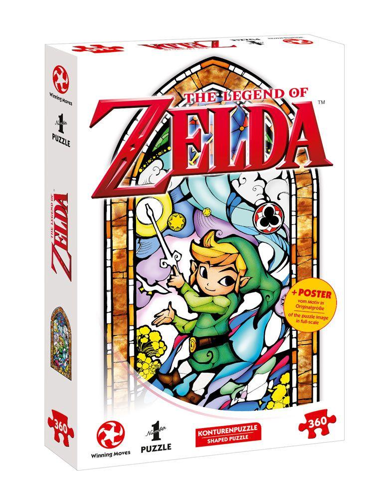 The Legend of Zelda Jigsaw Puzzle Link Wind Waker