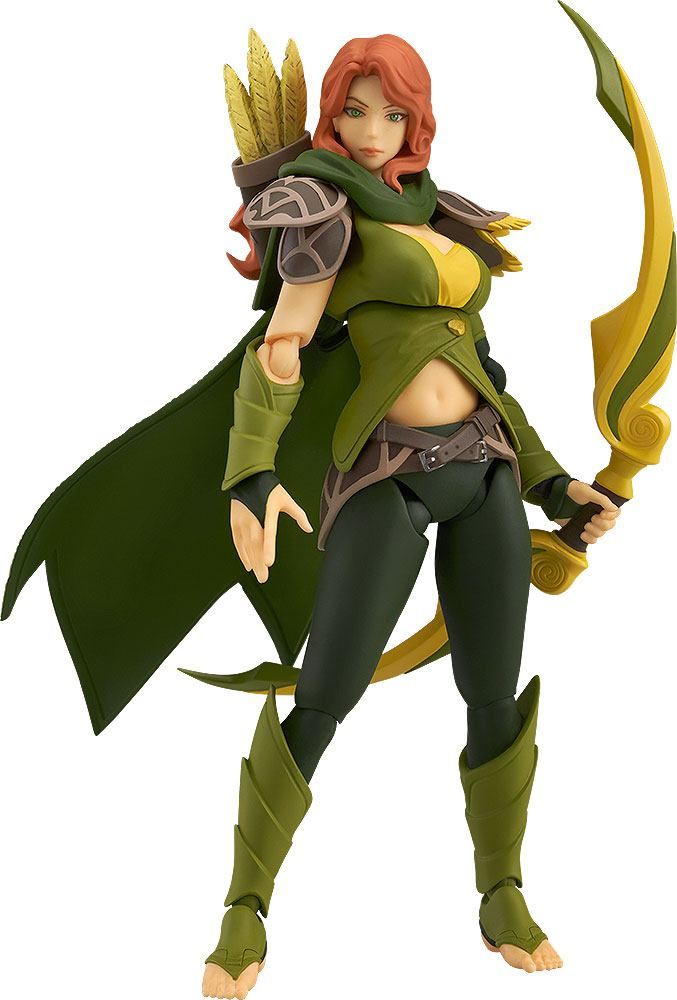 Dota 2 Figma Action Figure Windranger 14 cm --- DAMAGED PACKAGING