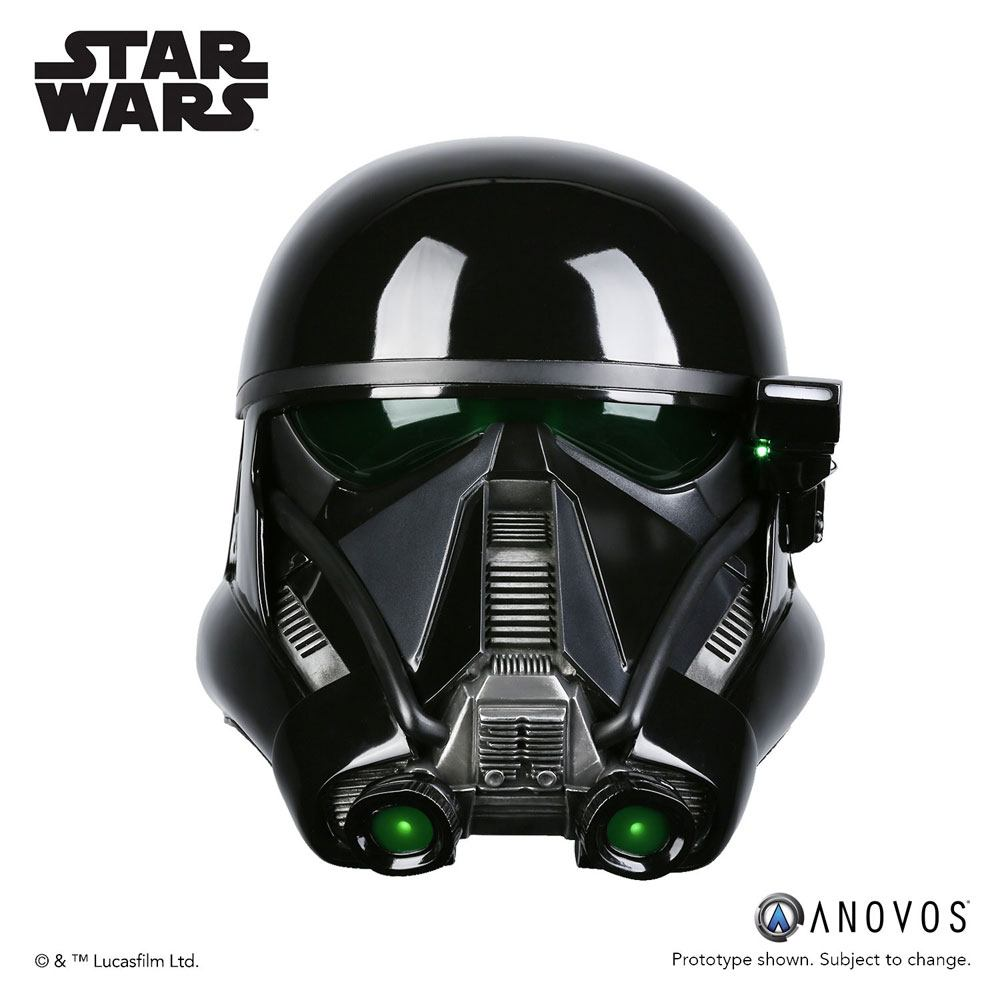 Star Wars Rogue One Replica 1/1 Death Trooper Specialist Helmet Accessory Ver.