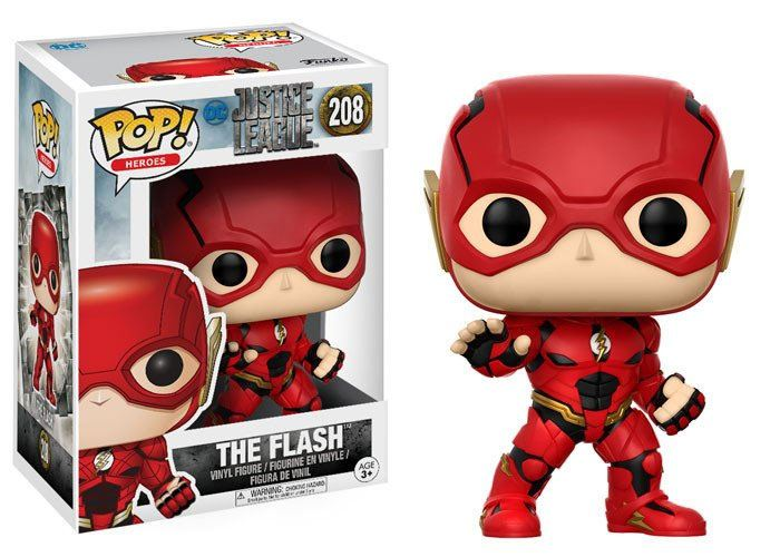 Justice League Movie POP! Movies Vinyl Figure The Flash 9 cm