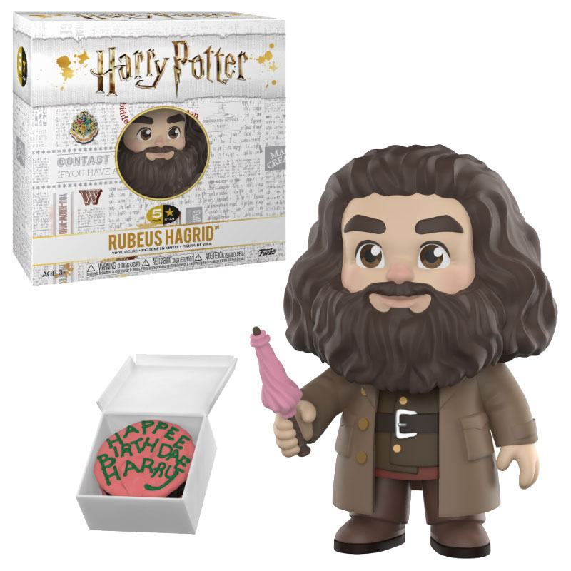 Harry Potter 5-Star Vinyl Figure Hagrid 8 cm