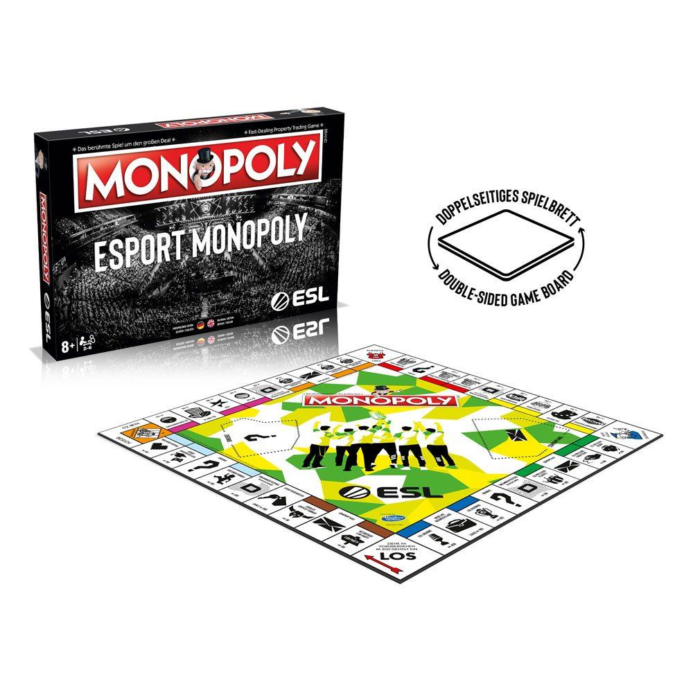 ESL Board Game Monopoly *German & English Version*