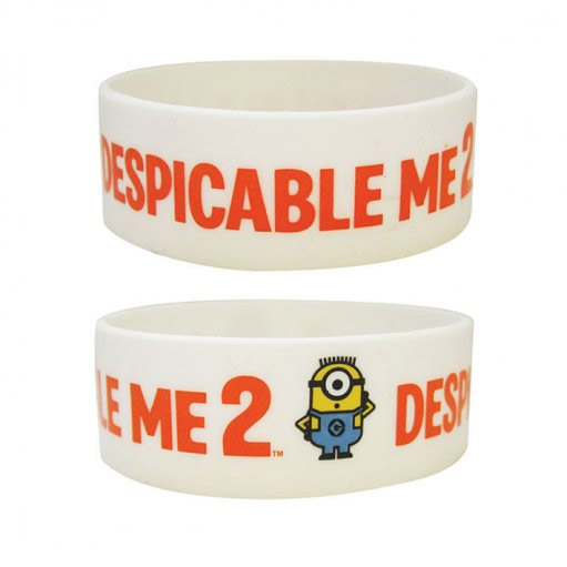 Despicable Me 2 Rubber Wristband 2D Minions