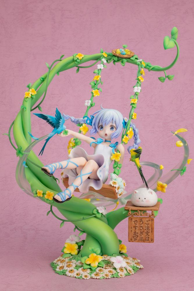 Is the Order a Rabbit? PVC Statue 1/7 Chino Flower Swing 29 cm