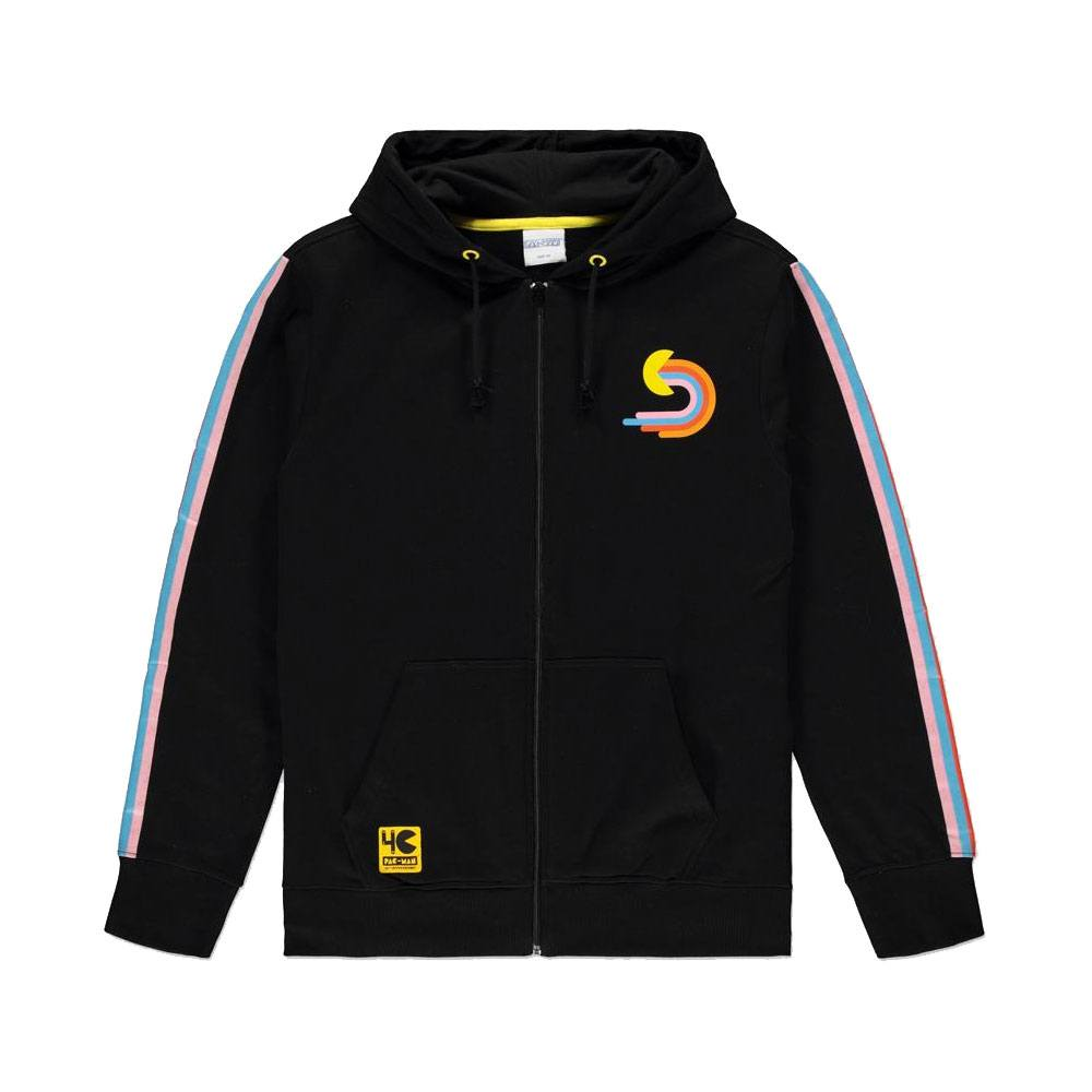 Pac-Man Hooded Sweater 1980 Size L