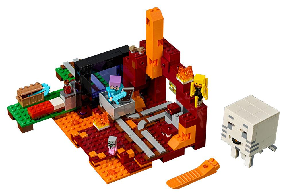 LEGO® Minecraft™ The Nether Portal