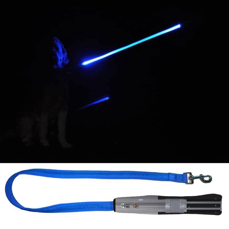 Star Wars LED Dog Lead Luke Skywalker Lightsaber