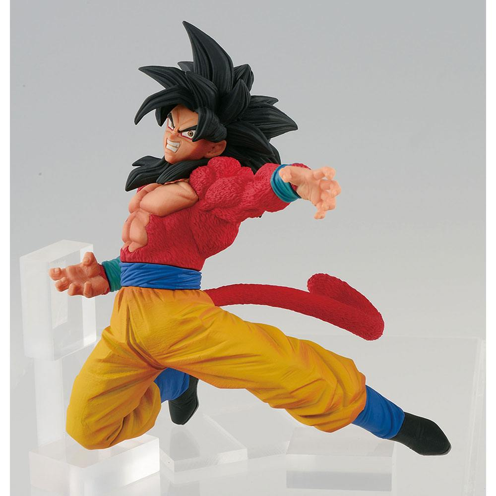 Dragonball Super Son Goku Fes Figure Super Saiyan 4 Son Goku 15 cm --- DAMAGED PACKAGING