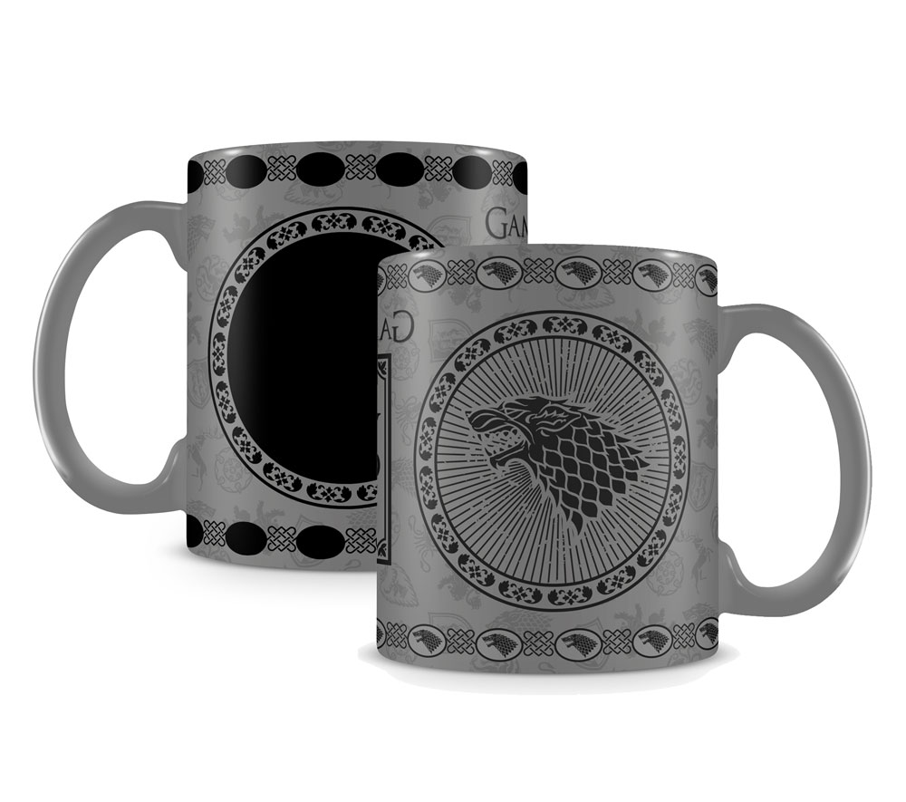 Game of Thrones Heat Change Mug Stark