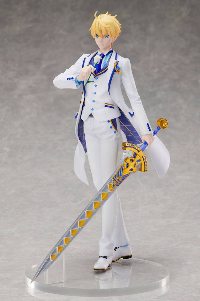 Fate/Grand Order PVC Statue 1/7 Saber/Arthur Pendragon Prototype White Rose Ver. 28 cm