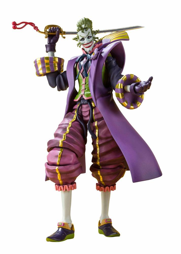 Batman Ninja S.H. Figuarts Action Figure Joker Demon King of the Sixth Heaven 16 cm --- DAMAGED PACKAGING