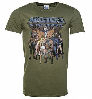 Masters Of The Universe T-Shirt He-Man Group Size L