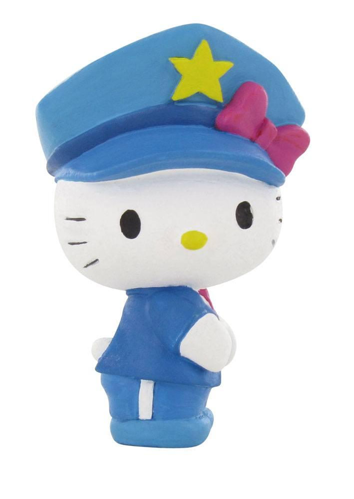 Hello Kitty Mini Figure Hello Kitty Police 6 cm