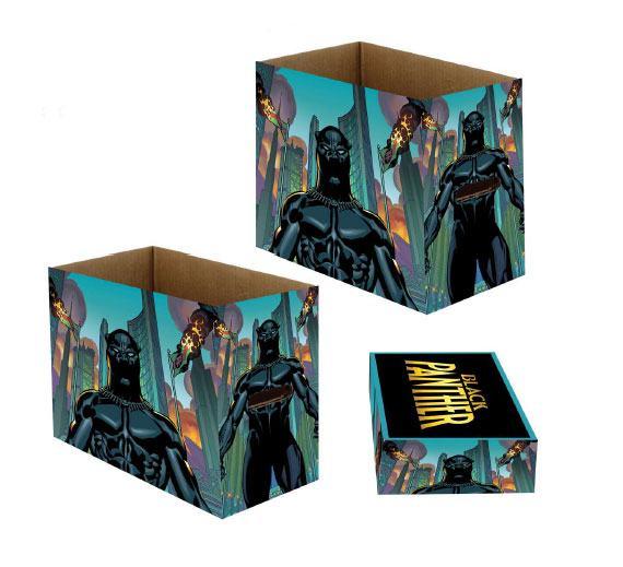 Marvel Storage Boxes Black Panther Nation 23 x 29 x 39 cm Case (5)