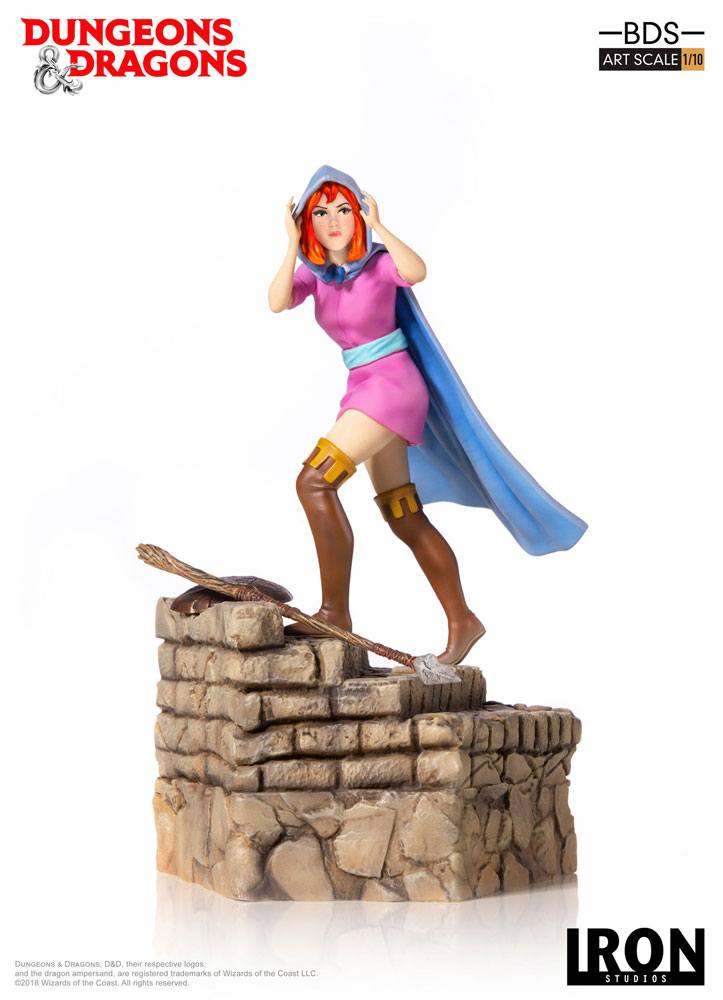 Dungeons & Dragons BDS Art Scale Statue 1/10 Sheila The Thief 22 cm