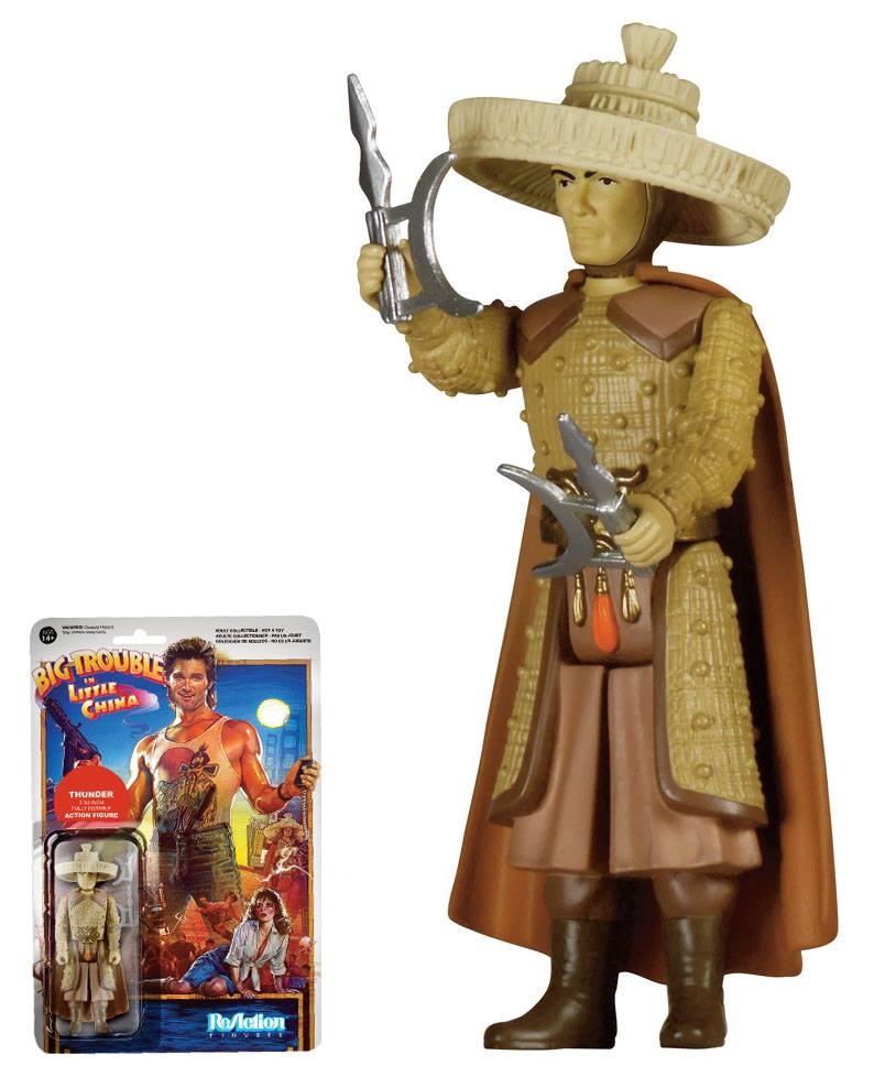 Big Trouble in Little China ReAction Action Figure Thunder 10 cm