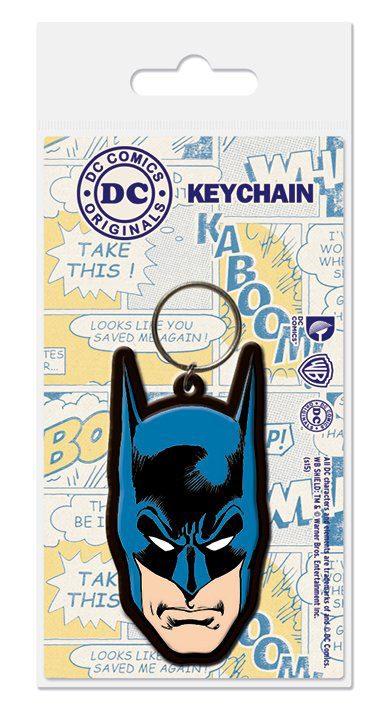 DC Comics Rubber Keychain Batman 6 cm
